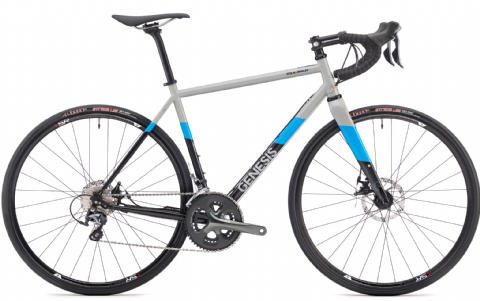 Genesis Equilibrium Disc 10 Road Bike Grey 2018